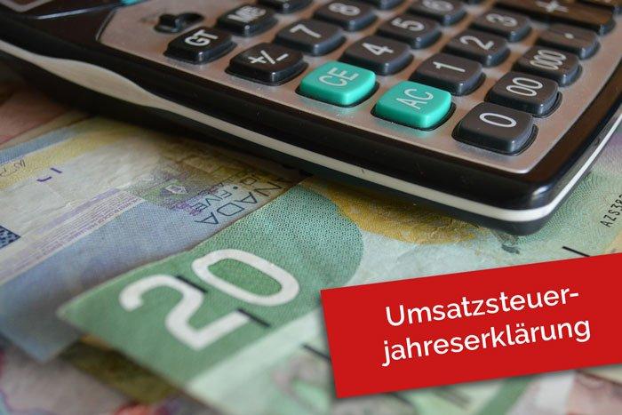 Umsatzsteuerjahreserklärung