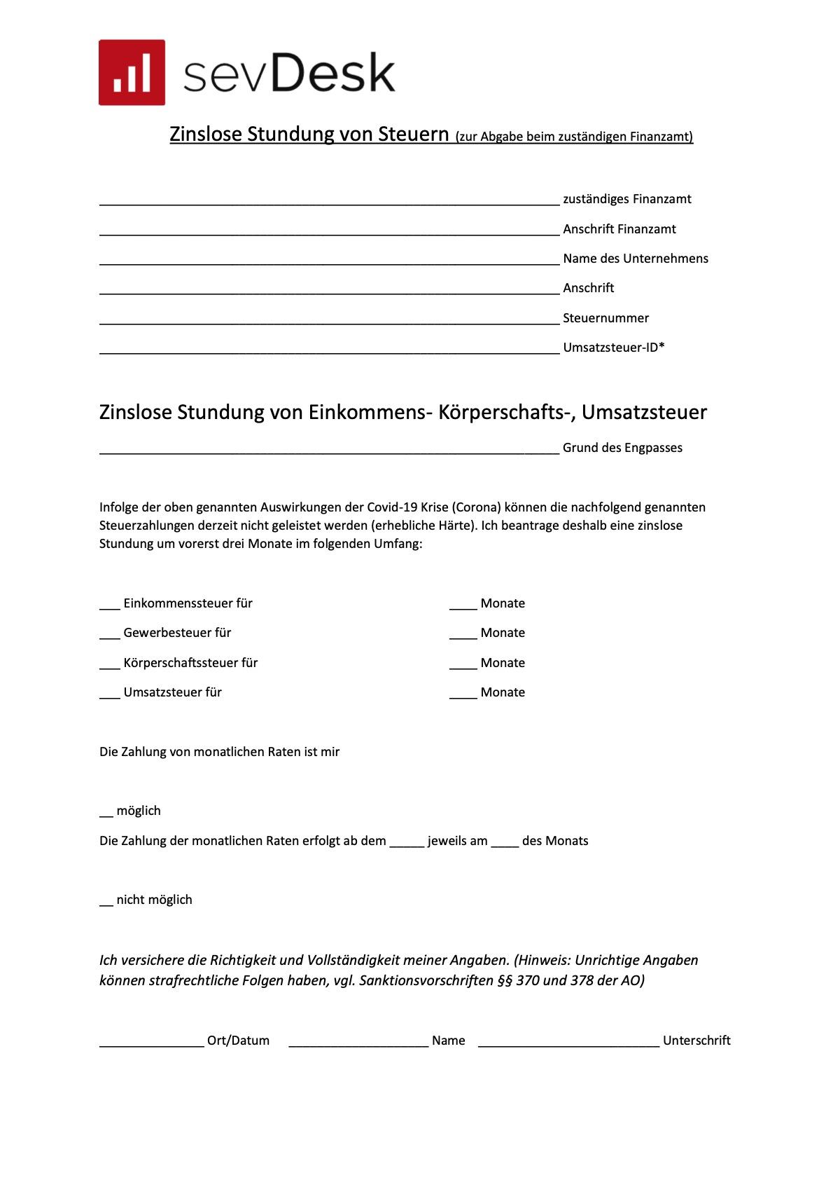 forumular-zinslose-stundung-von-einkommensteuer-koerperschaftssteuer-umsatzsteuer