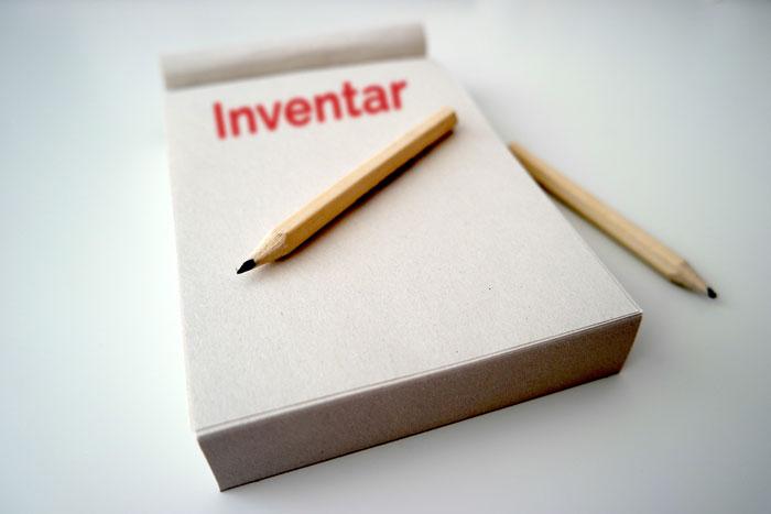 Inventar erfassen mit inventur