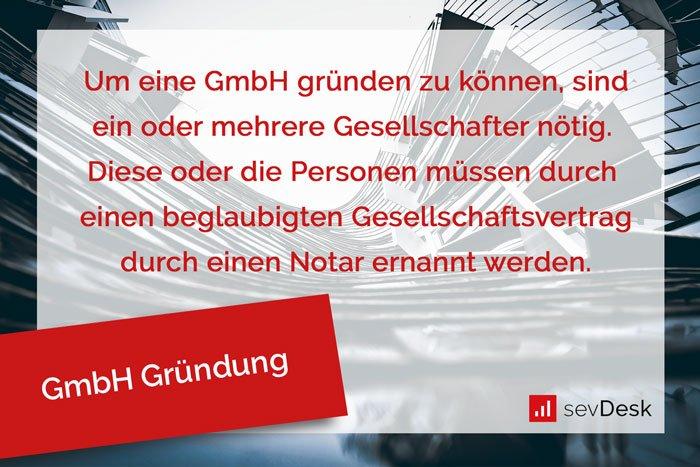 GmbH Gründung