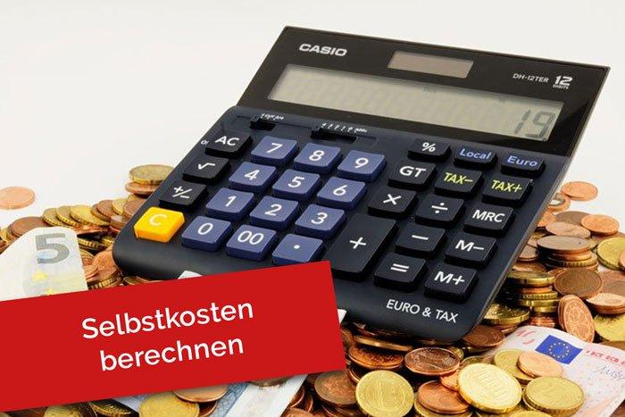 Selbstkosten berechnen