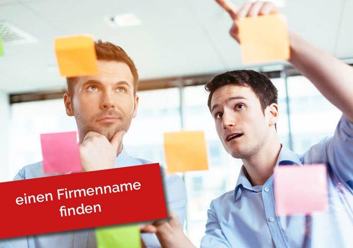 Brainstorming Firmenname