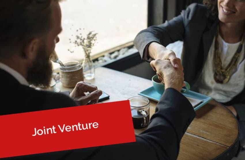 Joint Venture Zusammenarbeit