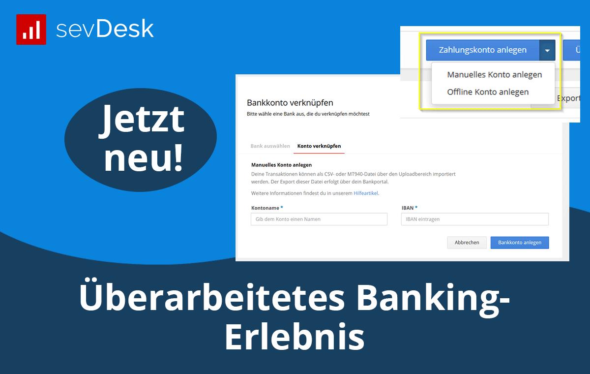 Überarbeitetes Banking-Erlebnis