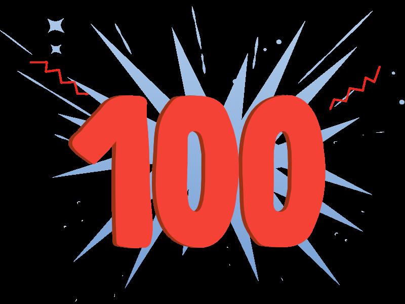 100 Mitarbeiter